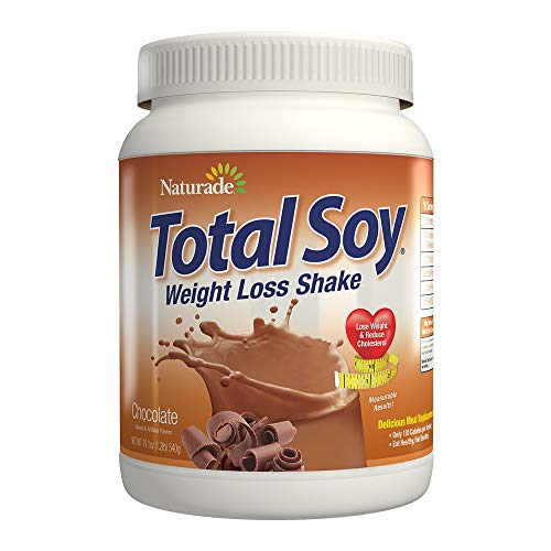 Protein Soy Chocolate - Naturade Total Soy Meal Replacement Supplement, Chocolate, 19.1 Ounce