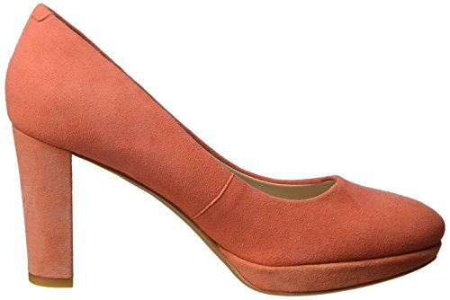3 Escarpins UK Orange Clarks Noir Sienna Suede Kendra Femme Coral nOExEXq