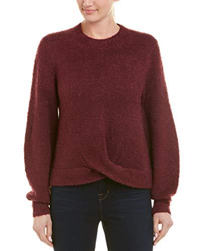 Joie Womens Stavan Wool-Blend Sweater, M, Purple