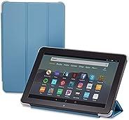 Nupro Tri-fold Standing Case for Fire HD 8 Tablet, Twilight Blue (10th Gen, 2020 Release)