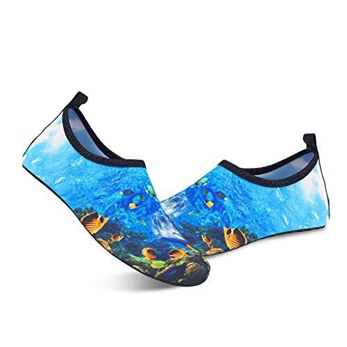 - Emimarol Mens Womens Water Shoes Quick Dry for Boating Swim Diving Aqua Sports Pool Beach Walking