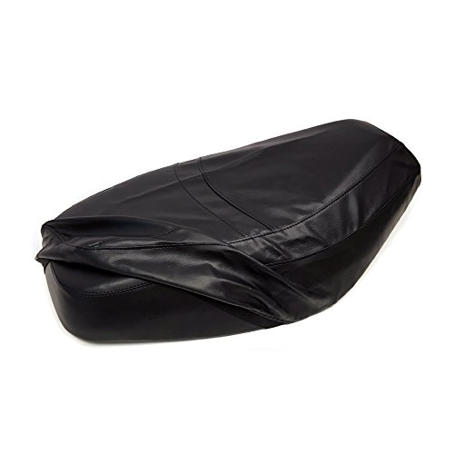 Premium Seat Cover Black for Small Gas Scooters Tao Tao VIP 50 / Miami 50 and others 50cc (Covers Miami Seat)