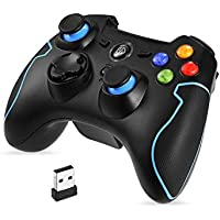 EasySMX 2.4G Wireless Controller for PS3, PC Gamepads...