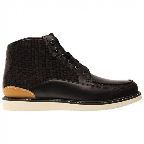 Timberland Newmarket Leather VA A17AE Herren Boot schwarz
