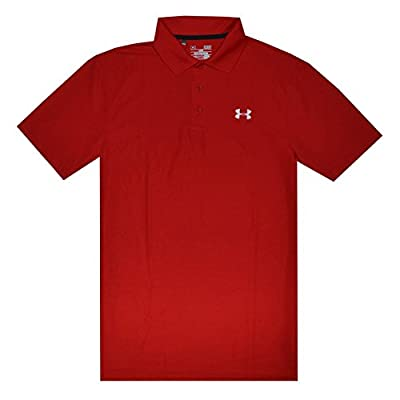Under Armour Men UA Golf Performance Logo Polo T-Shirt