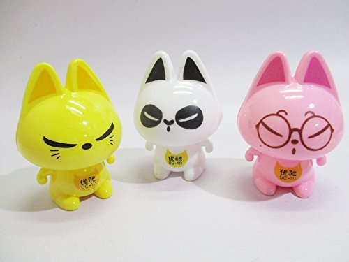 pencils-sharpener-cat-3-pcs-in-lot-for-home-office-and-school