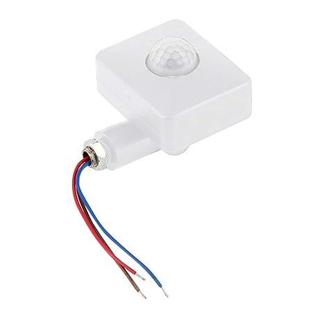 HINMAY Mini Detector de Movimiento portátil, Ahorro de ...
