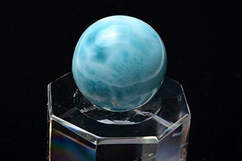 【 福縁閣 】AAA高品質 ラリマー 16.5mm 高品質1粒売り_T334-16.5天然石 パワーストーン ビーズ   B06XS68SNW