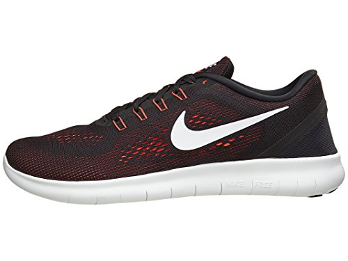Nike Men's Free Rn Running Shoes, Grey, 11 UK Black (Black/white-anthracite)