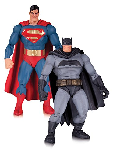 Dark Knight Returns 30th Anniversary Superman and Batman Action Figure 2-pack (Batman Dark Knight Toy)