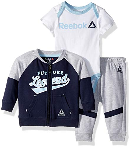 Creeper Jacket For Kids - Reebok Baby Boys 3 Piece Legend