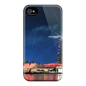 New Singapore Gardens By The Bay Lights Tpu Skin Case Compatible With Iphone 4/4s