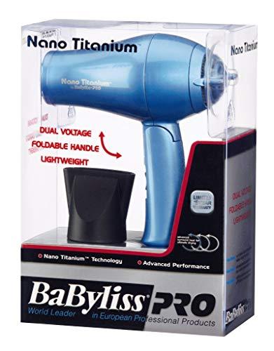 BaBylissPRO Nano Titanium Travel Dryer by BaBylissPRO (Image #5)