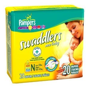 Pampers Swaddlers – Newborns 2 Cases of 240 Each, Health Care Stuffs