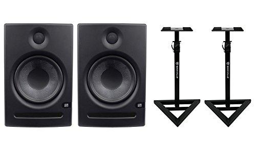 65w Acoustic Amplifier - 2) Presonus Eris E8 - High-Definition 2-way 8