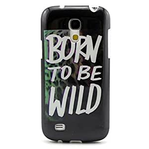 SOL Born To Be Wild Pattern TPU Soft Back Cover for Samsung Galaxy S4 Mini I9190