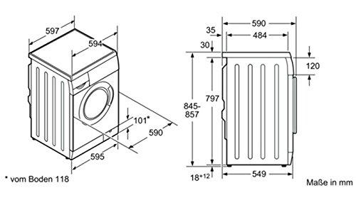 Relativ Siemens WM12E1S0 Waschmaschine: Amazon.de: Elektro-Großgeräte BS16