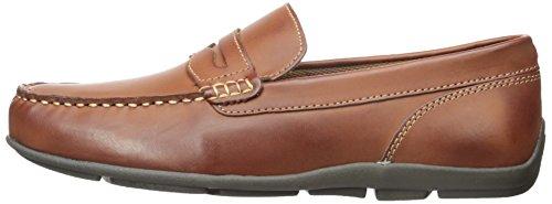 Tommy Hilfiger Men's Davey Slip-on Loafer, Cognac, 13 M US