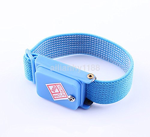 Cordless  Wireless Anti-Static  Wrist-Band Wrist Strap ESD Discharge Cable