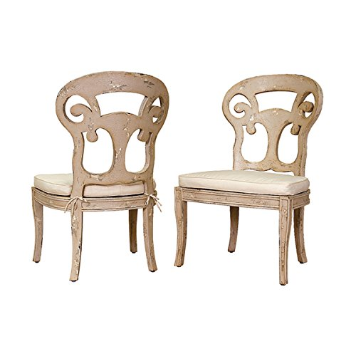Guildmaster Home Decorative Verona Club Side Chairs In Crossroads Rosa With Muslin Cushions - (Verona Club Chair)