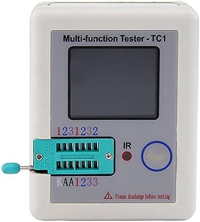 Naliovker Lcr Tc1 3 5zoll Bunte Anzeige Multifunktions Tft Hintergrundbeleuchtungstransistor Prüfvorrichtung Baumarkt