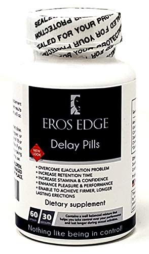 EROS Edge Delay Pills - Very Effective Natural Male Support. Works as Size