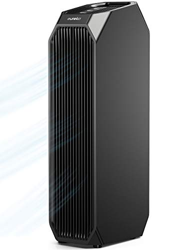 Eureka Instant Clear NEA120 Air Purifier, 3-in-1 Ultra Silent Air Cleaner with True HEPA Filter, Carbon Activated Filter and UV LED Review