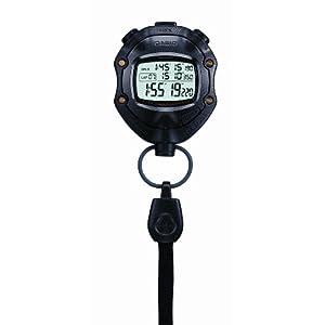 Casio HS 80TW 1EF Digital Black Stopwatch