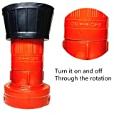 SAFBY Fire Hose Nozzle NPSH/NPT Thermoplastic