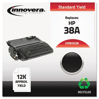 INNOVERA 83038 Toner Cartridge for hp Laserjet 4200 Series, Black, remanufactured