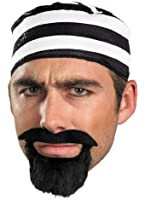 Costume Accessories Black Beard Moustache Goatee Costume Theme Party Accessory
