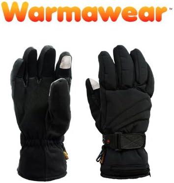 Warmawear Deluxe Guantes t/érmicos con bater/ía el/éctrica