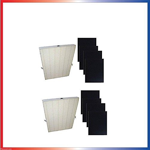 Heating, Cooling & Air 2pk True HEPA Plus 4 Replacement Filter for Winix 115115 5300 5500 6300 Size 21