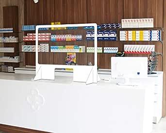 Mampara protectora de metacrilato y PVC. Con ventanilla. Dim: 100 x 75 cm. (entrega inmediata) ENVÍO GRATIS.: Amazon.es: Industria, empresas y ciencia