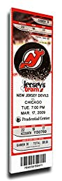 That\'s My Ticket Martin Brodeur NHL All-Time Wins Record Mega Ticket Wall Decor, New Jersey Devils