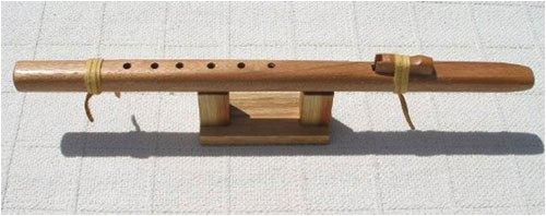 Native American Style Windpony Key of F# Mahogany 6-hole Flute