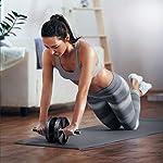 Amonax-Rullo-per-addominali-convertibile-con-grande-tappetino-per-ginocchio-per-esercizi-di-rollout-Core-Abs-doppia-ruota-con-doppia-modalita-di-allenamento-di-forza-fitness-in-palestra-o-a-casa