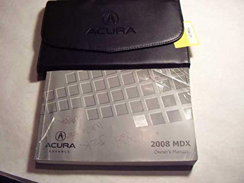 2008 Acura MDX Owners Manual pdf