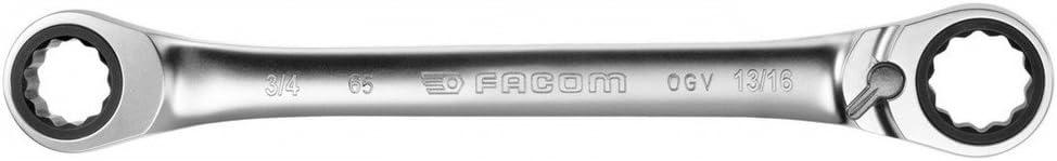 LLAVE 12C TRINQUETE15G 1//4X5//16 Facom 65.1//4X5//16