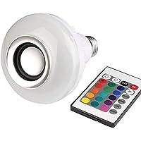 Lampada Led Colorida Musica com Caixa de Som e Bluetooth