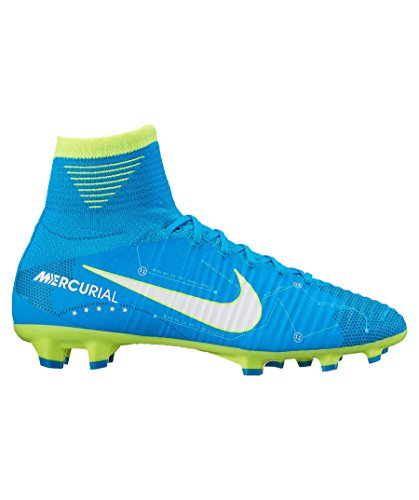 Nike Blue 400 Df Cleats Boots V Superfly Soccer 921483 Njr Fg White Junior Mercurial Orbit Football 7SqrAH7
