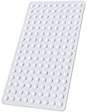 Yolife Non-Slip Bathtub Mat, Rubber Anti Skid Rubber Shower Tub Mat, Safety and Machine Washable Protection Bathtub Mat with Suction Cups, XL Tub Mat 28x16 inches