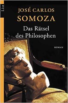 Book Das Rätsel des Philosophen. Roman.