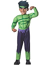 Rubie's Costume Baby Boy's Classics Avengers Assemble Muscle Chest Hulk