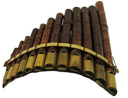 FAIR TRADE INDONESIAN BAMBOO PANPIPES HARMONICA pan pipes LUK15 (Bamboo Harmonica)
