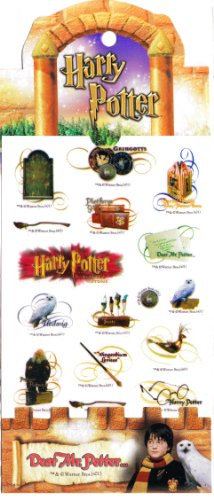 Harry Potter Mini Sticker Set: Diagon Alley & Magical Items