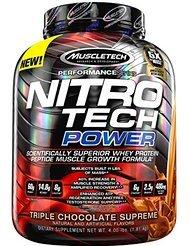 Muscle Tech ナイトロテックパワー 1.8kg (NITRO TECH POWER ) [海外直送品] (フレンチバニラ) [並行輸入品] B01I96NK0S フレンチバニラ