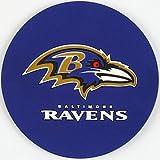 Duck House NFL Baltimore Ravens Vinyl Coaster Set (Pack of 4)