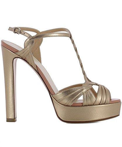Talons Cuir Chaussures RUSSO R1S384N211PINKGOLD Femme FRANCESCO Marron À ITqB0Fxwx