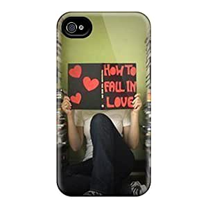 Hard Plastic Iphone 4/4s Case Back Cover,hot Fall In Love Case At Perfect Diy